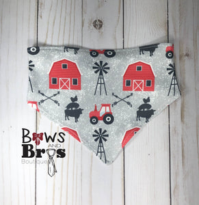 New To The Herd Red Farm Gender Neutral Coming Home Outfit- 1,2,3,4 or 5 Piece Set - Bows and Bros Boutique LLC