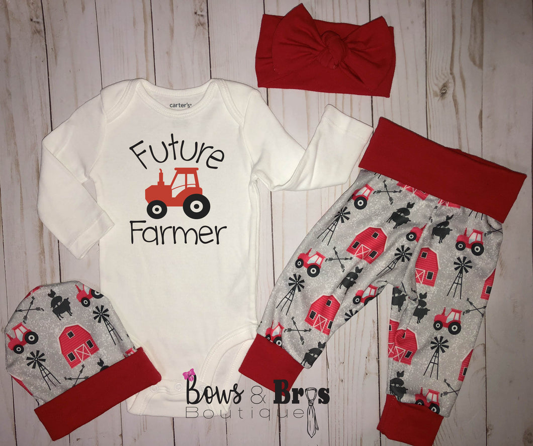 Future Farmer Unisex 5 Piece Outfit Set