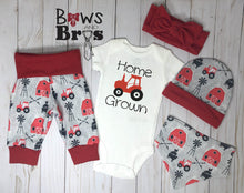 Load image into Gallery viewer, Home Grown Unisex 5 Piece Outfit Set