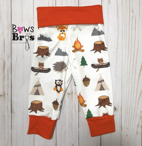 Wild and Free Boys 4 Piece Woodland Outfit Set