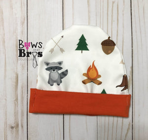 Hello I'm New Here Baby Boy Woodland Coming Home Outfit- 1,2,3 or 4 Piece Set - Bows and Bros Boutique LLC