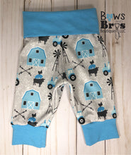 Load image into Gallery viewer, New to the Herd Baby Boy Blue Farm Coming Home Outfit- 1,2,3 or 4 Piece Set - Bows and Bros Boutique LLC