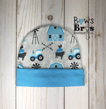 Load image into Gallery viewer, New to the Herd Baby Boy Farm Coming Home Outfit- 1,2,3 or 4 Piece Set - Bows and Bros Boutique LLC