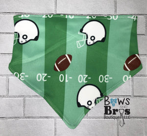 Custom Name First Football Game Baby Boy Coming Home Outfit- 1,2,3 or 4 Piece Set - Bows and Bros Boutique LLC