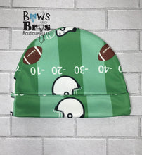 Load image into Gallery viewer, Custom Name First Football Game Boy Coming Home Outfit- 1,2,3 or 4 Piece Set - Bows and Bros Boutique LLC