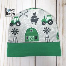 Load image into Gallery viewer, Home Grown Tractor Baby Boy Green Farm Coming Home Outfit- 1,2,3 or 4 Piece Set - Bows and Bros Boutique LLC