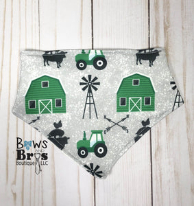 New to the Herd Baby Boy Green Farm Coming Home Outfit- 1,2,3 or 4 Piece Set - Bows and Bros Boutique LLC