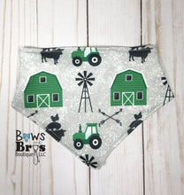 Load image into Gallery viewer, Future Farmer Tractor Baby Boy Green Farm Coming Home Outfit- 1,2,3 or 4 Piece Set - Bows and Bros Boutique LLC