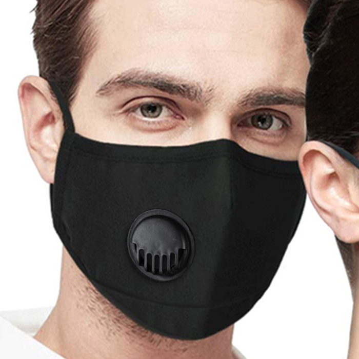 Cotton Face Mask With Filter