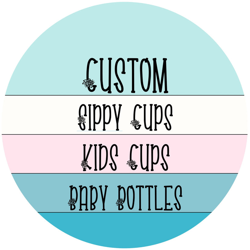 Customized & Personalized Sippy Cups & Bottles