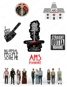 American Horror Story-Roanoke-Tumbler Fan Sheet
