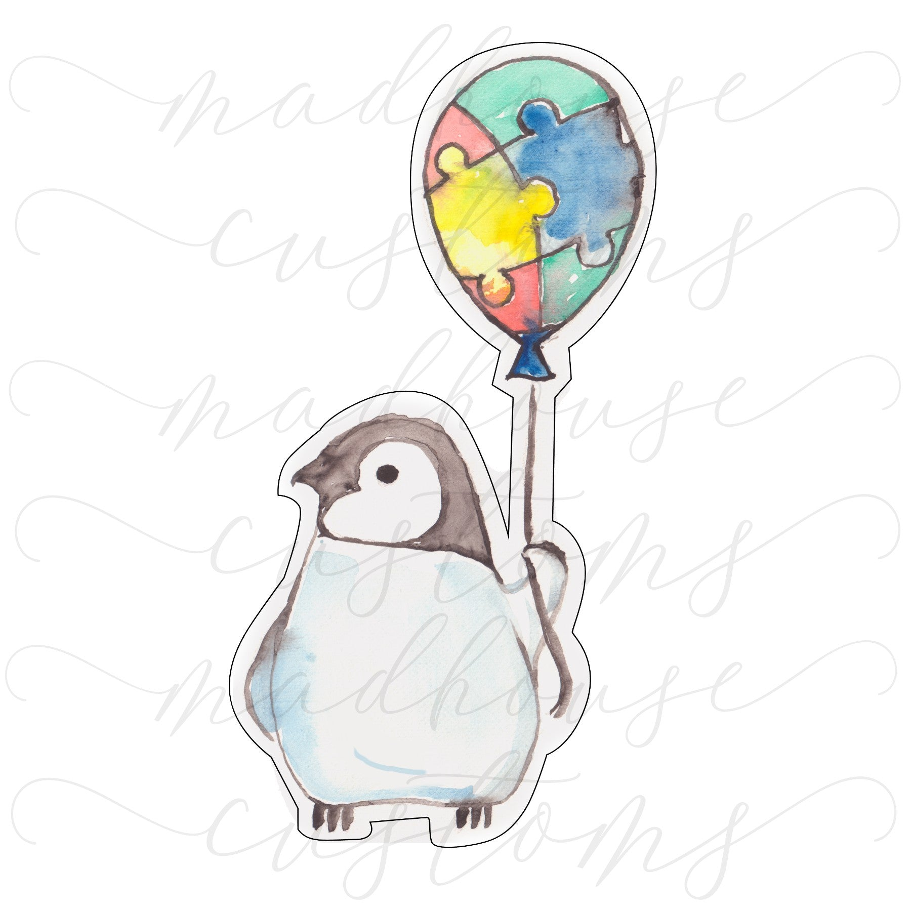 Autism Penguin-Digital Download