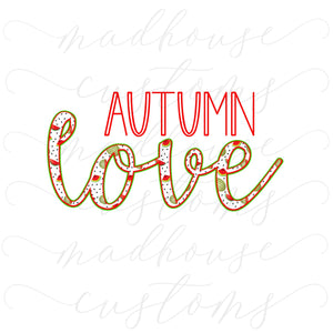 Autumn Love-Digital Download