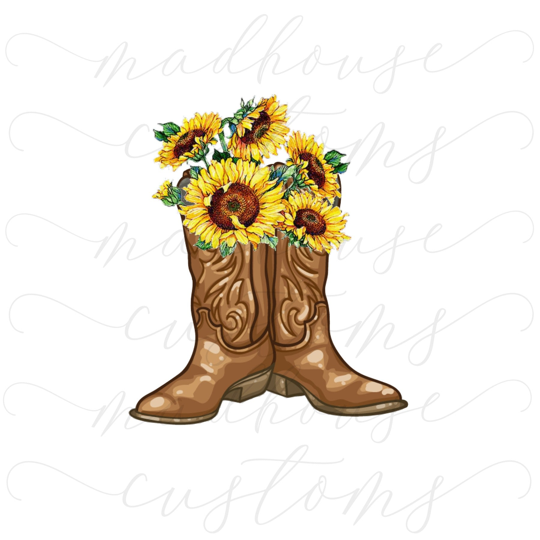 Boots & Sunflowers #3