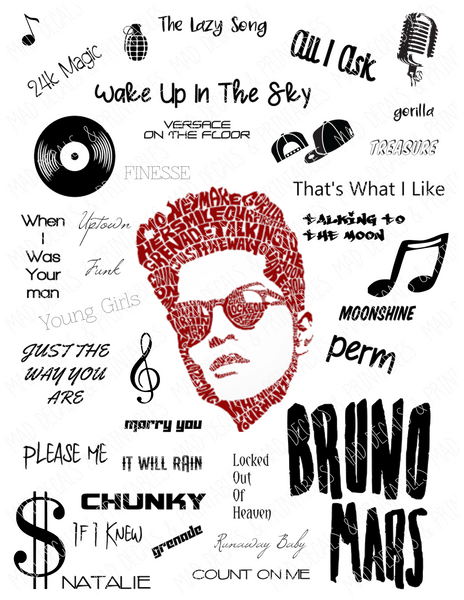Bruno Mars-Digital Download