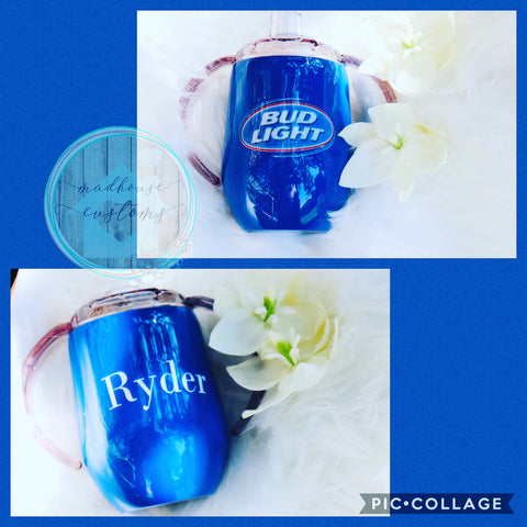 Bud Light Sippy Cup*Customize With Name/Saying*