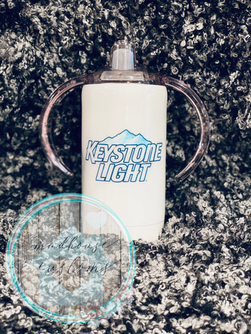 Keystone Light Sippy Cup*Customize With Name/Saying*