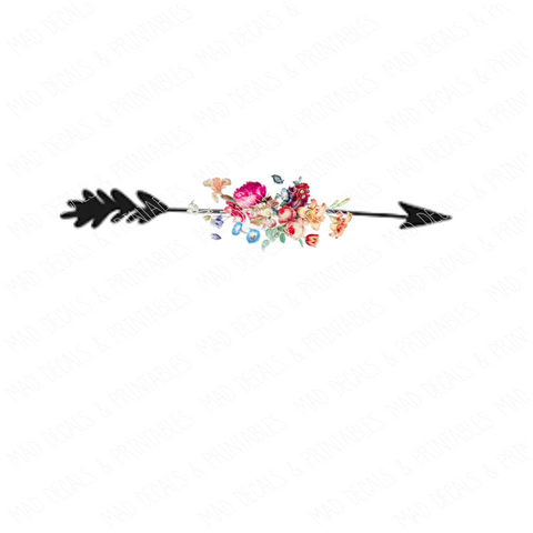 Floral Arrow #3-Digital Download