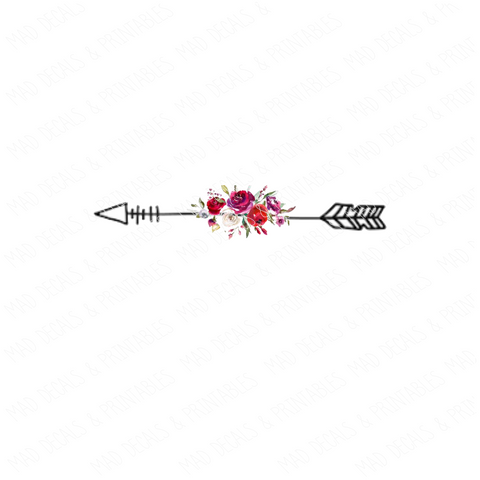 Floral Arrow #6-Digital Download