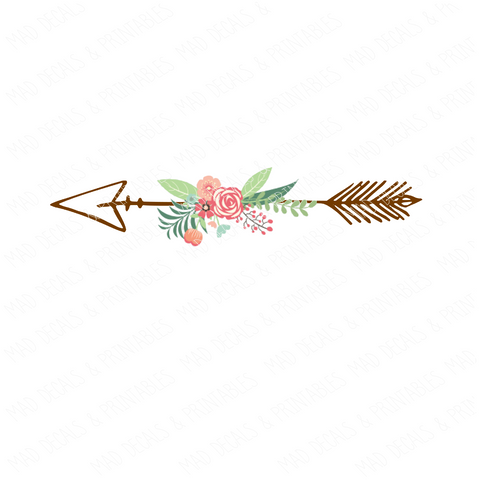 Floral Arrow #8-Digital Download