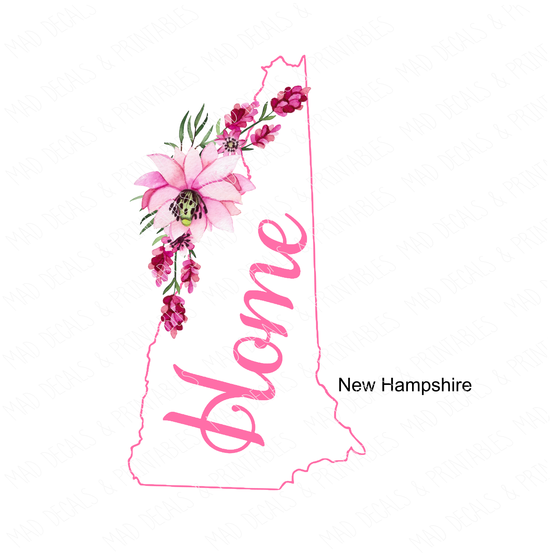New Hampshire #1-Digital Download