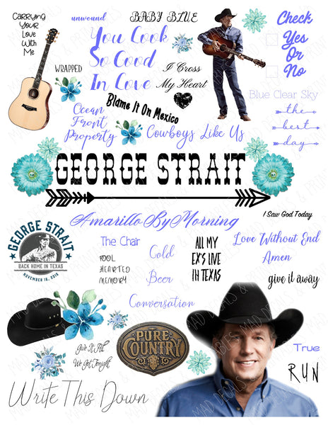 George Strait-Digital Download