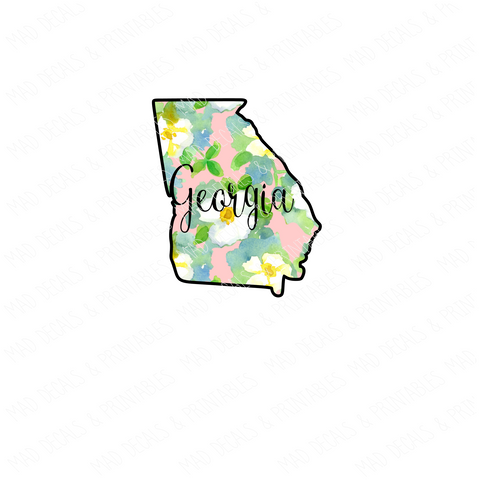 Georgia #1-Digital Download