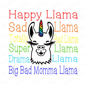 Happy Llama-Digital Download