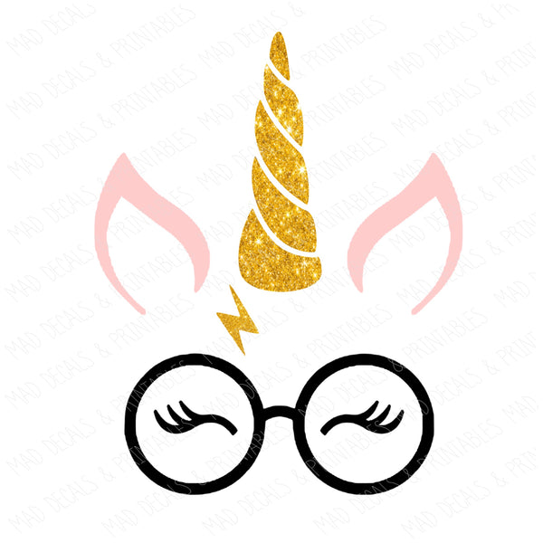 Pink Harry Pottercorn