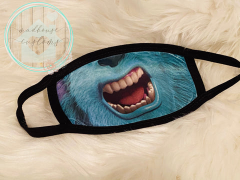 """Sully-Monsters Inc. Mask""**Clearance**"