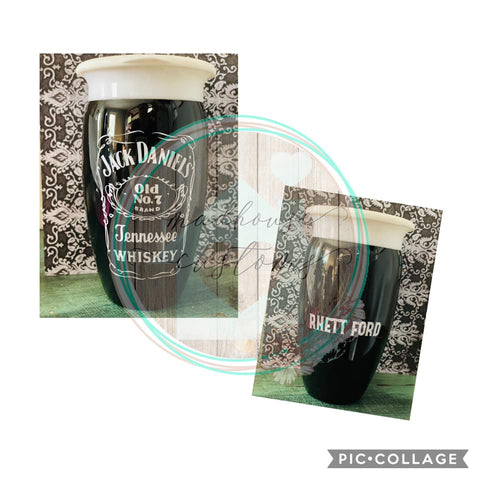Jack Daniels Sippy Cup*Customize With Name/Saying*