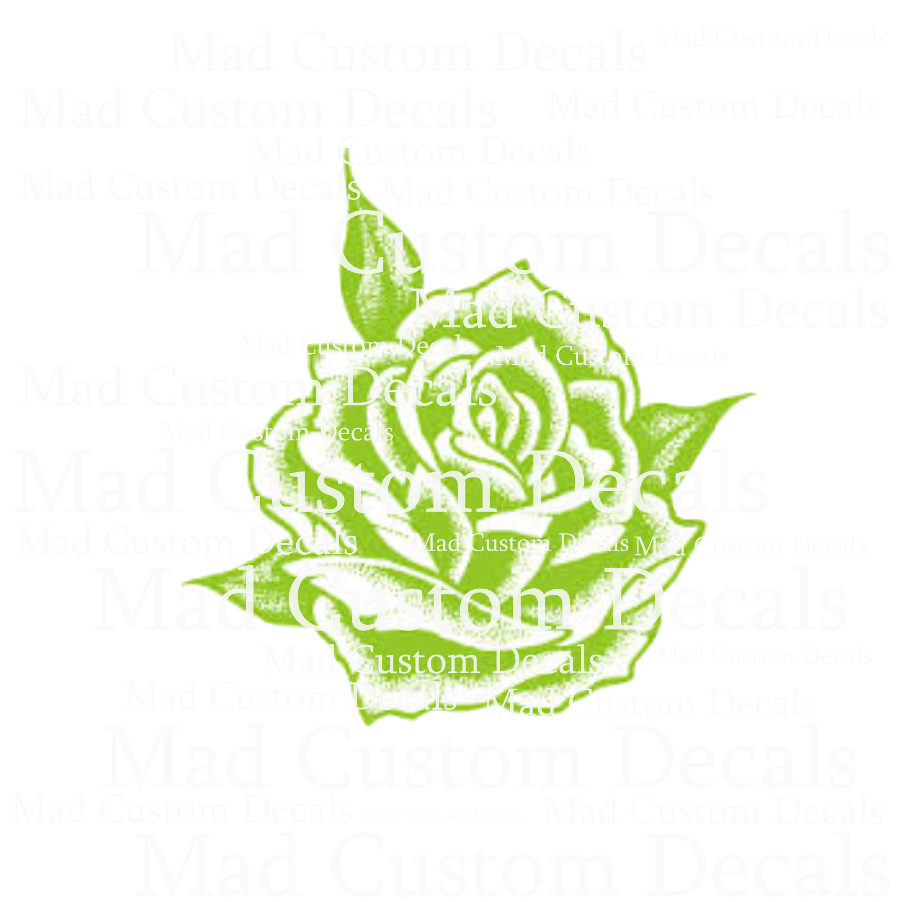 Lime Green Rose-Digital Download