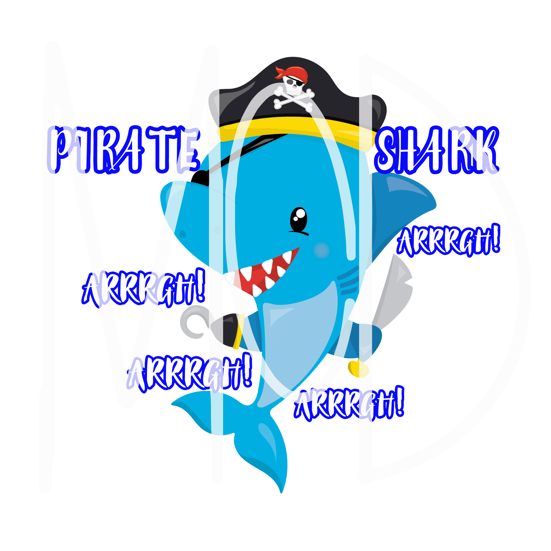 Pirate Shark-Digital Download