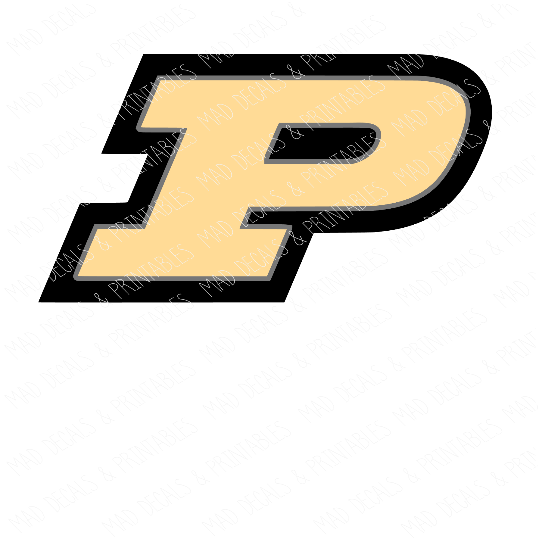 Purdue P-Digital Download