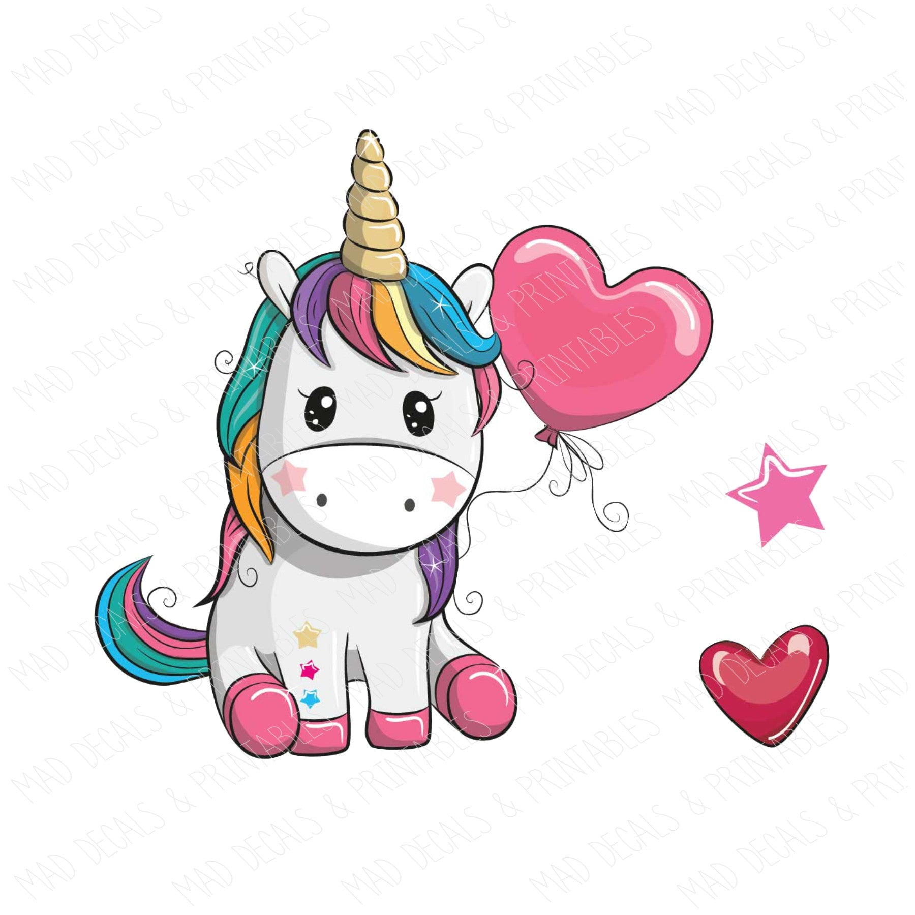 Rainbow Unicorn #2-Digital Download
