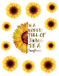 Roses & Sunflowers-Large-Digital Download