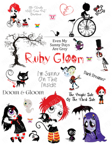 Ruby Gloom-Digital Download