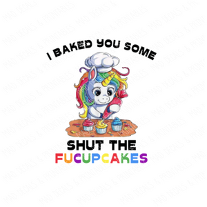 Shut The Fuck Up Cakes #1