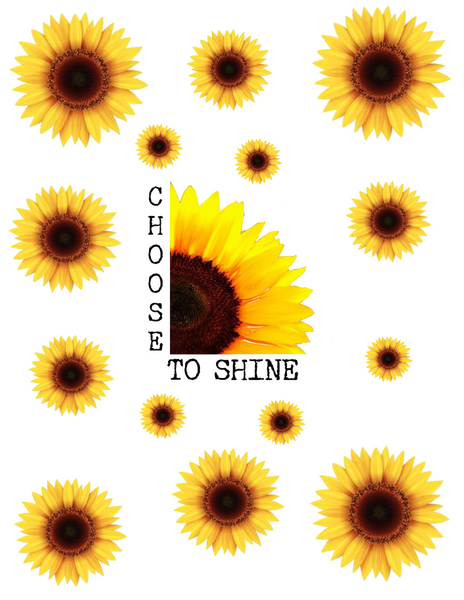 Sunflower-Choose To Shine