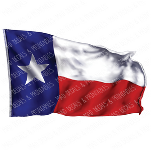 Texas State Flag #2-Digital Download