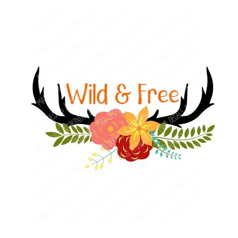 Wild & Free-Digital Download