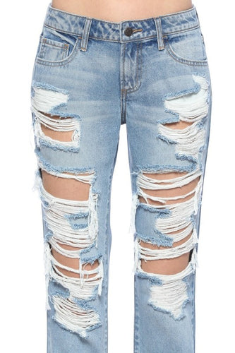 Heavy Distressed Jeans
