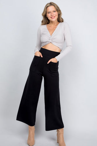 Wide Leg Cozy Pants