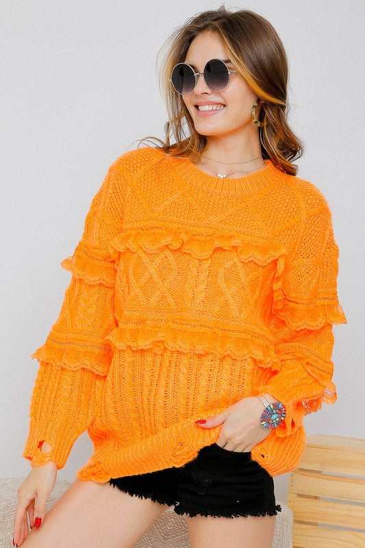 Vol Pop Sweater