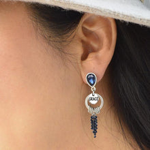 Load image into Gallery viewer, Crown Earrings