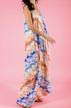 Load image into Gallery viewer, Tie Dye Harem Dress