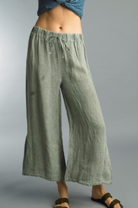 Everyday Linen Flow Pants