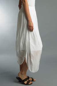Tara Linen Bubble Skirt
