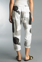 Load image into Gallery viewer, Color block linen pants