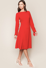 Load image into Gallery viewer, Kimber Open Back Midi Dress